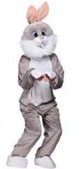Mini Grey Rabbit Mascot (MA8552)